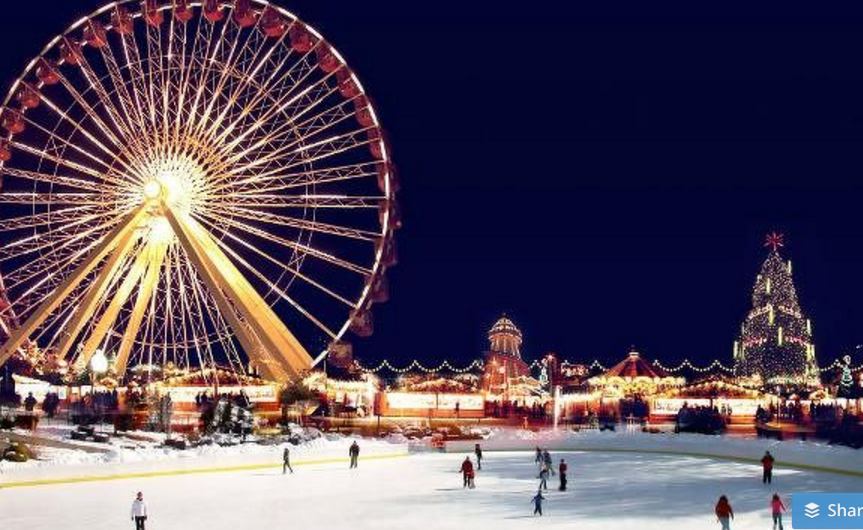winter wonderland, kerstfeest